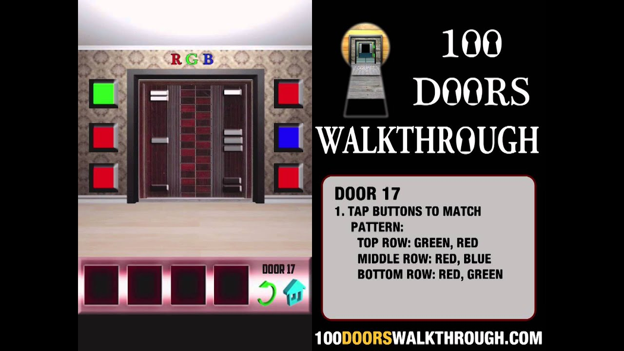 100 doors x door 17 walkthrough iphone 100 doors x 17