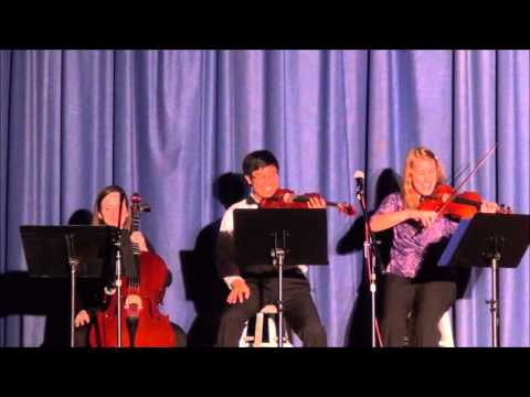 """""""One Bow Concerto"""" By Robert Meyer Highland View Academy Talent Show 2015"""