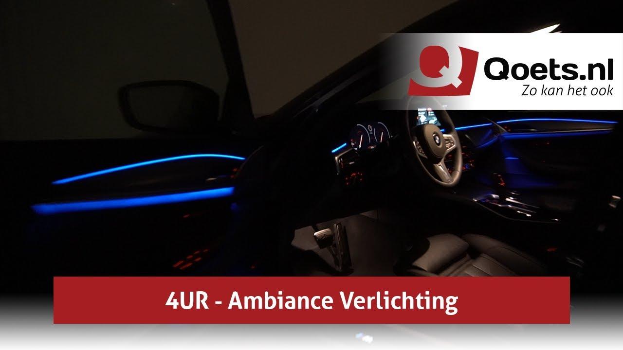 Qoets.nl - BMW 5-serie (G30) - 4UR - Ambiance Verlichting - YouTube