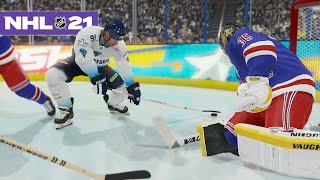 NHL 21 FIRST GOAL WINS CHALLENGE *CRAZY GOALS*