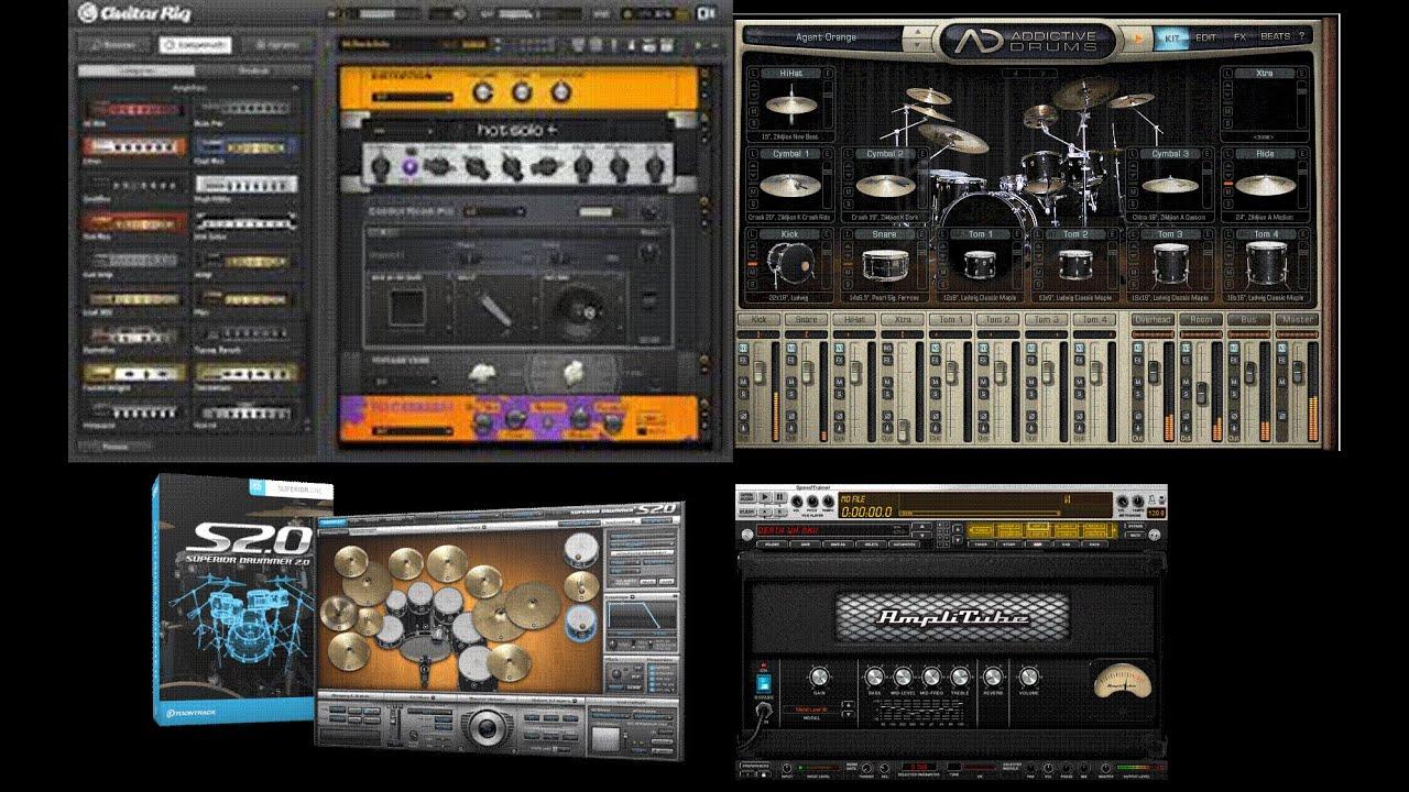 metal presets for drums guitar and bass vst vsti rtas plugins youtube. Black Bedroom Furniture Sets. Home Design Ideas
