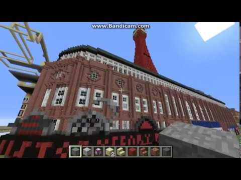 Blackpool Tower Minecraft - Complete exterior