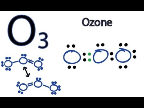 O3 Lewis Structure - How to Draw the Dot Structure for O3