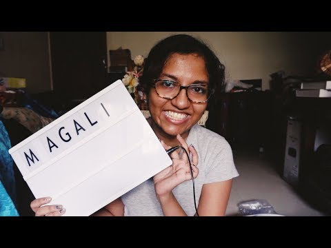 Opening my Mail & Gifts + Colouring my hair Purple (at home!) // #MagaliVlogs