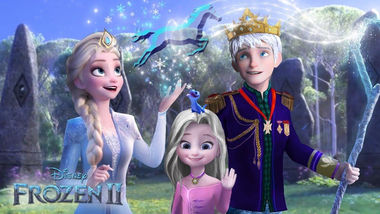 Download Frozen 2: Elsa and Jack Frost - King and Queen of Arendelle! ❄💙 Disney Frozen 2   Alice Edit!