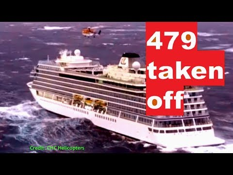 Cruise Ship in Storm SAVED! Viking Sky Towed into Molde, Norway