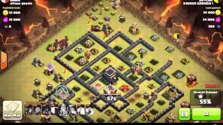 Clan War - Clash Of Clans : Hog Lv.Max Attack (psycho @Kaskus Garuda 1)