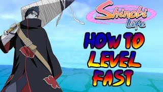 ROBLOX Shinobi Life OA - COME A LEVEL UP FAST(GUIDA ADVANCED)