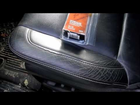 how to fix vinyl seat cracks