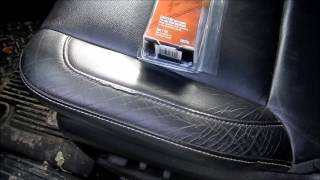 Leather Seat Repair (3M leather and Vinyl repair kit)