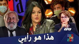 رأي الفنانة نضال الجزائري في تعليق وزيرة الثقافة حول فيديو الفنان عثمان عريوات