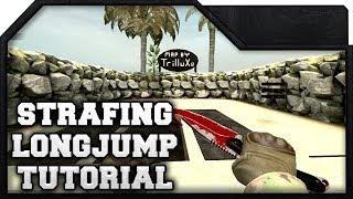 CS:GO - Strafing & LongJump Tutorial (w/ custom map)