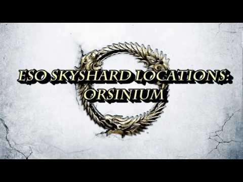 ESO: Orsinium Skyshard Locations