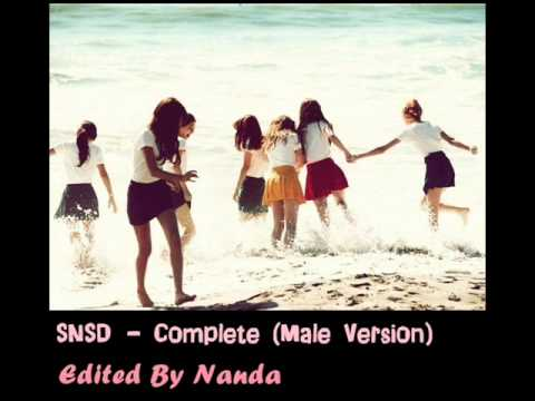 SNSD - Complete (Male Version)