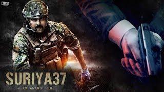 Suriya 37 First Look & Title - Release   Suriya   KV Anand   Sayyesha   Mohanlal   Arya