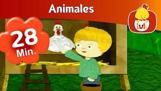 Animales - Capítulo especial de media hora  |  Cartoon para Niños - Luli TV