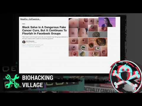 DEF CON Safe Mode Biohacking Village - Andrea Downing - Infodemic: Threat Models