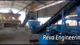 FLY ASH / CONCRETE BRICK MAKING PALANT-AUTOMATIC RBM-30