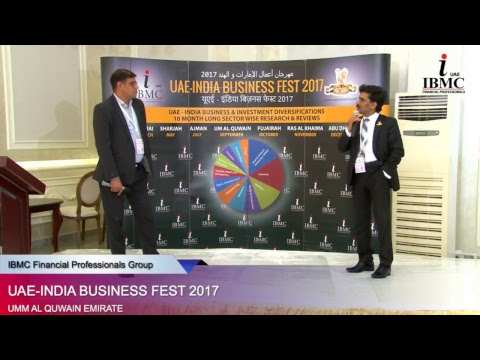 UAE - INDIA Business Fest 2017 (Umm Al Quwain Emirate) [Session -2]
