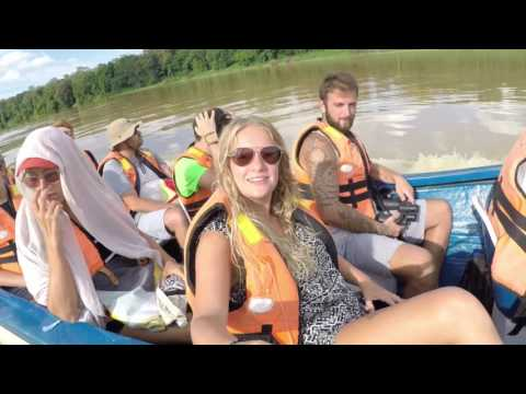 Our 3 days in the jungle at Kinabatangan river