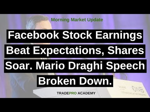 Facebook stock earnings beat e facebook stock