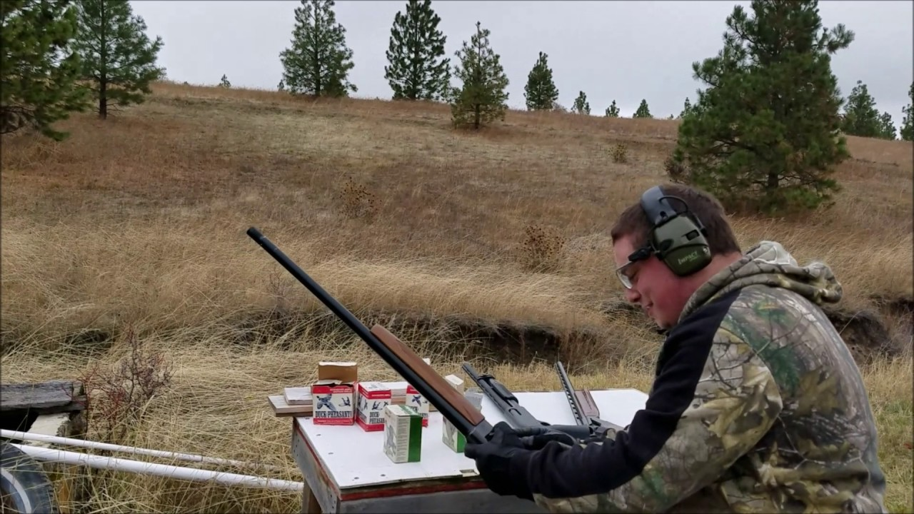 Hitch Mount Clay Pigeon Thrower Testing