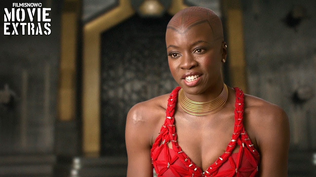 Black Panther On Set Visit With Danai Gurira Quot Okoye