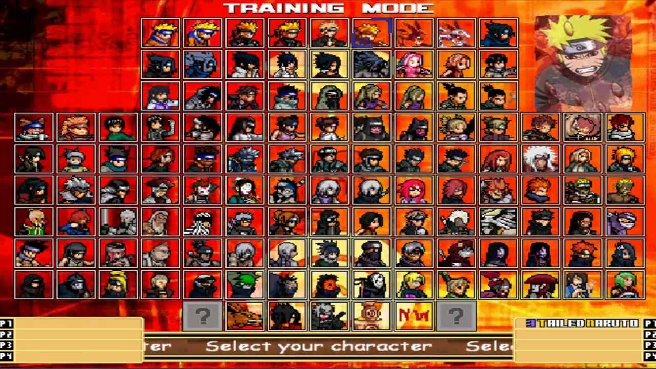 naruto karte Let's Play Naruto Mugen 2012 #007 Info Karte Naruto 2/3   YouTube