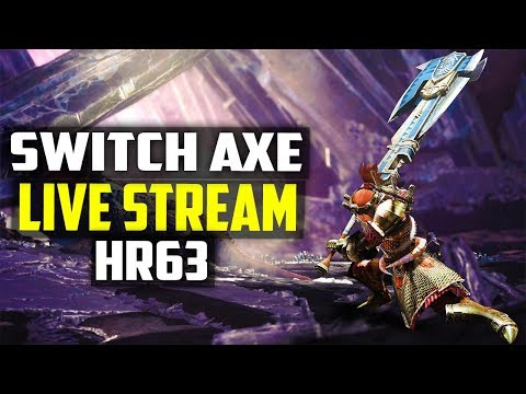 MAYBE SWITCH AXE STREAM! FARMING FOR NEW BUILDS! Monster Hunter World Gameplay PS4 Pro