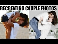 RECREATING CUTE COUPLE POSES w/ HUSBAND