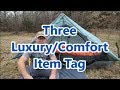 3 Luxury/Comfort Item Tag