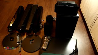 Unboxing of Sony BDV E4100 5.1 3D Home Theater System