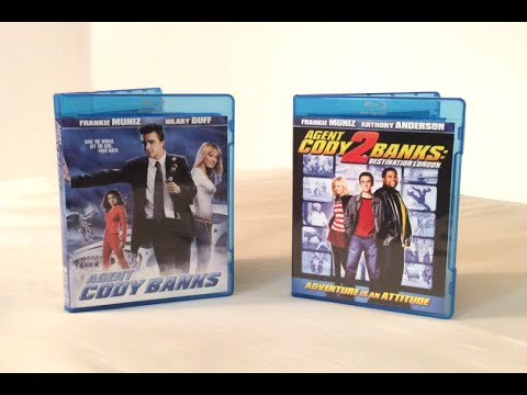 Agent Cody Banks  Agent Cody Banks 2  Blu Ray Unboxing and