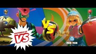 ARMS - Insomnia63 Final: Defur vs. Grimwood (Nintendo Switch)