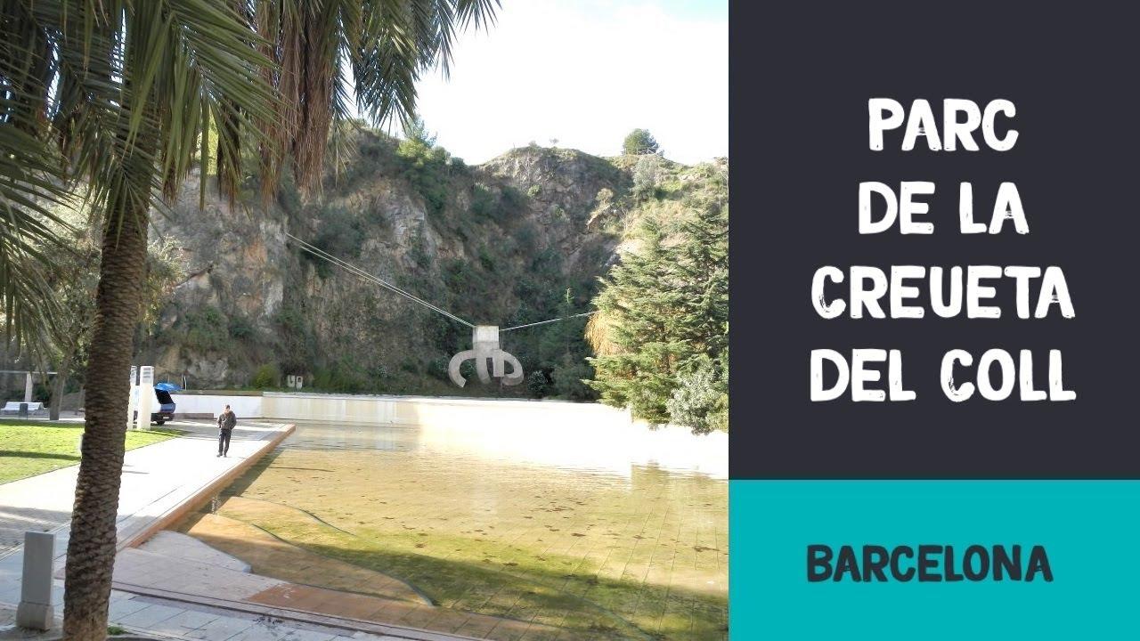 Parc de la creueta del coll barcelona youtube for Piscina creueta del coll