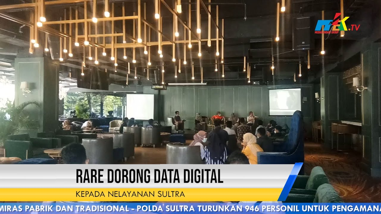 Rare Dorong Data Digital Kepada Nelayanan Sultra