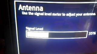 TV scan hack - different antenna elements for different parts of scan