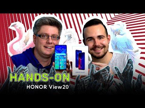 Honor View 20 - Unboxing & Unsere ersten Eindrücke (Deutsch)
