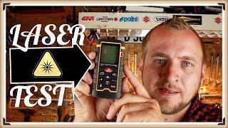 Laser-Entfernungsmesser, Preciva Test Laser Distanzmessgerät Messung von Distanz, Flächen, Volumen