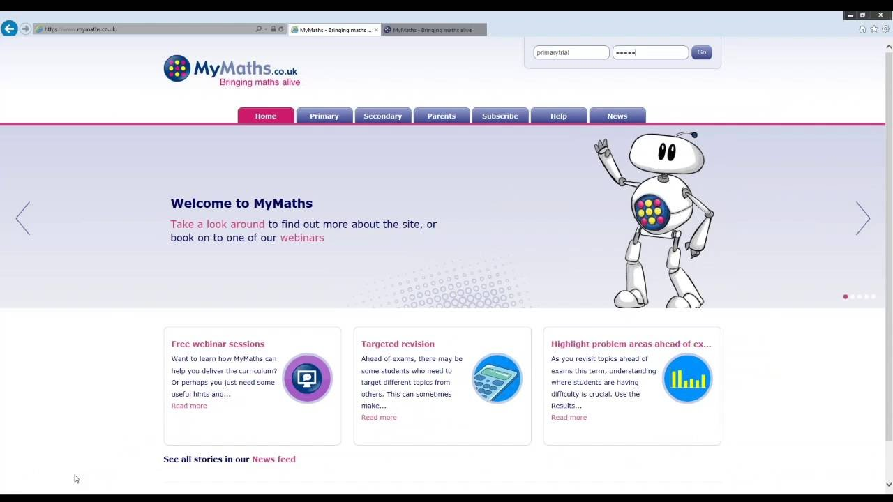 Mymaths Co Uk Homework Login Horbury Academy 2019 01 22