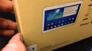 SAMSUNG P5220 GALAXY TAB 3 10.1 4G LTE Unboxing Video - TABLET in Stock at www.welectronics.com