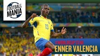 #WorldCup Star - Enner Valencia   Ecuador - Highlights