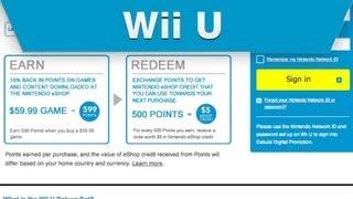 Wii U - Deluxe Digital Promotion