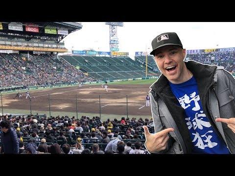 My First Japanese Baseball Game -- Hanshin Tigers Vs. Seibu Lions At Koshien Stadium