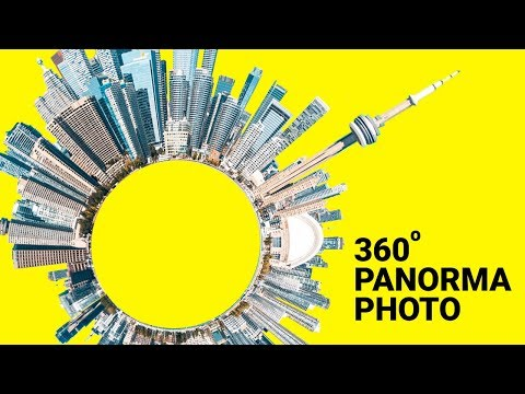 360° Degree Panorama Photography Editing in Photoshop in Hindi   360 Photo Editing thumbnail