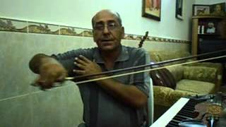 دورة تعليم الكمان الدرس الاول~1