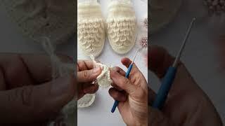 Krokodil terlik yapımı part 1
