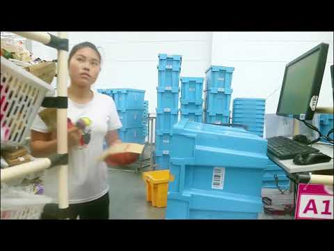 Soluciones Retail Picking and Sorting Solution GS R1000BT