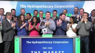 The Hydropothecary Corporation opens TSX Venture Exchange, March 22, 2017