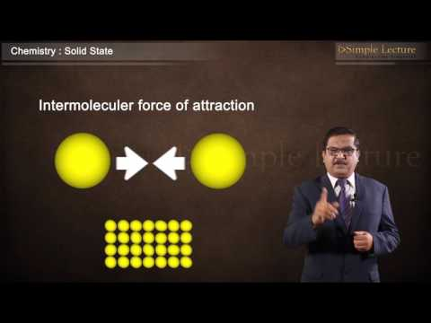 Class 12 Chapter 1 Solid State